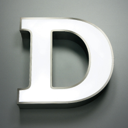 Led channel led signletters products total sign for Channel letter trim cap